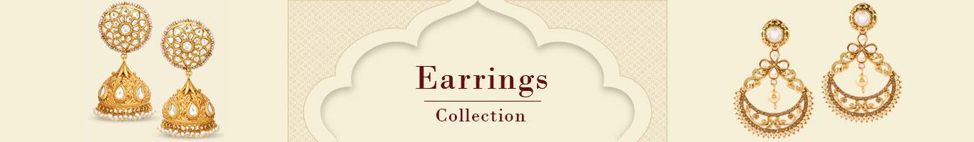 Wedding Wear Earring Jewellery