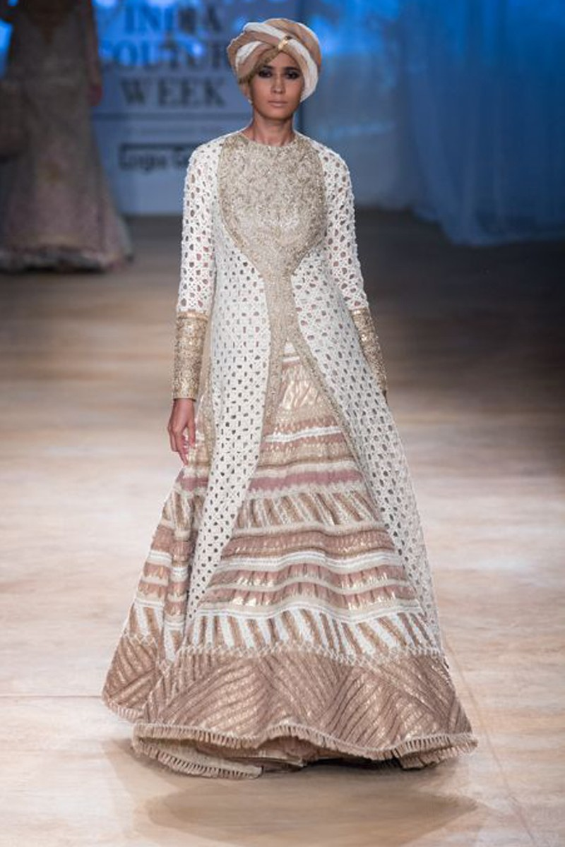 Wedding shop, Gown silk cheap indian prom suits, Off White hand ...