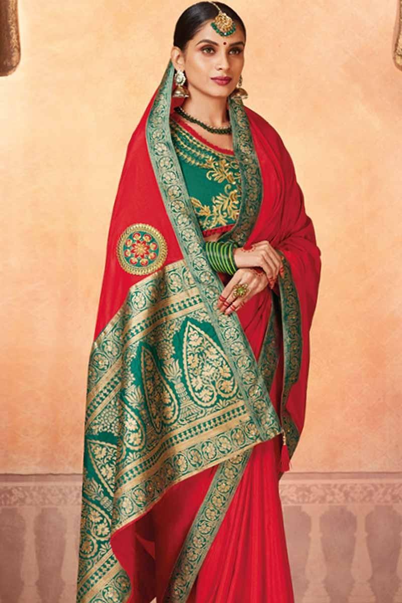 6ccb71e7de0a50 Art Silk Saree With Blouse - Image Of Blouse and Pocket