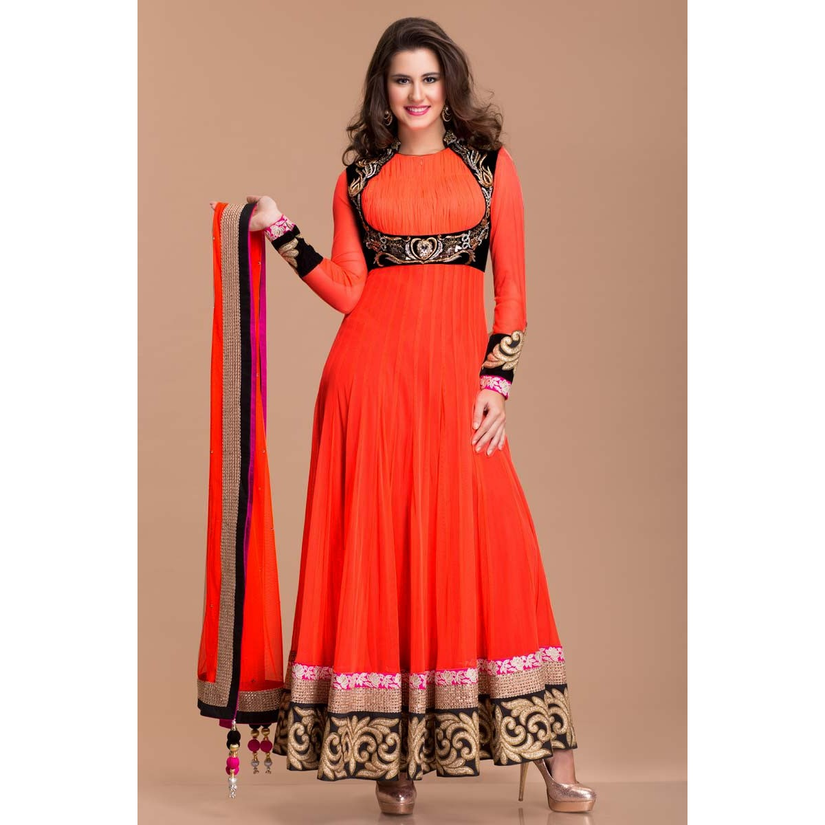db17d81a2df Designer Frock Style Anarkali, Womens Suits Online - Andaaz Fashion
