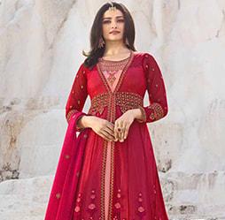 cd3d1d3110 Party Wear Gowns  Online Party Gown Designs  Indian Party Dresses ...