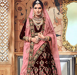 c2d3acbcc5 Wedding Lehengas Online | Buy Indian/Pakistani Wedding Lehenga Choli ...
