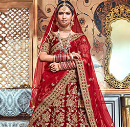 30802a5236 Latest collection of designer plus size lehengas for wedding & festivities.