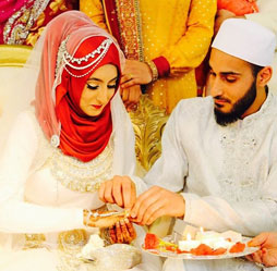Best Collection Of Islamic Muslim Wedding Dresses Outfits